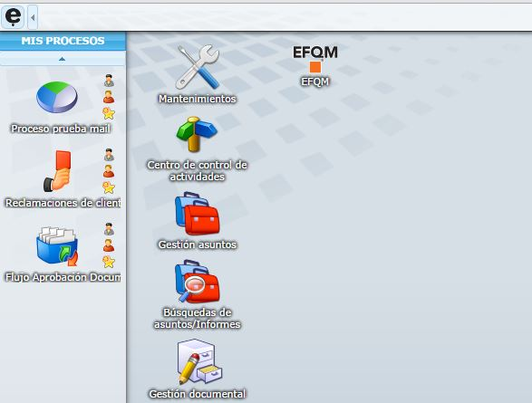 Módulo EFQM en eGAMbpm